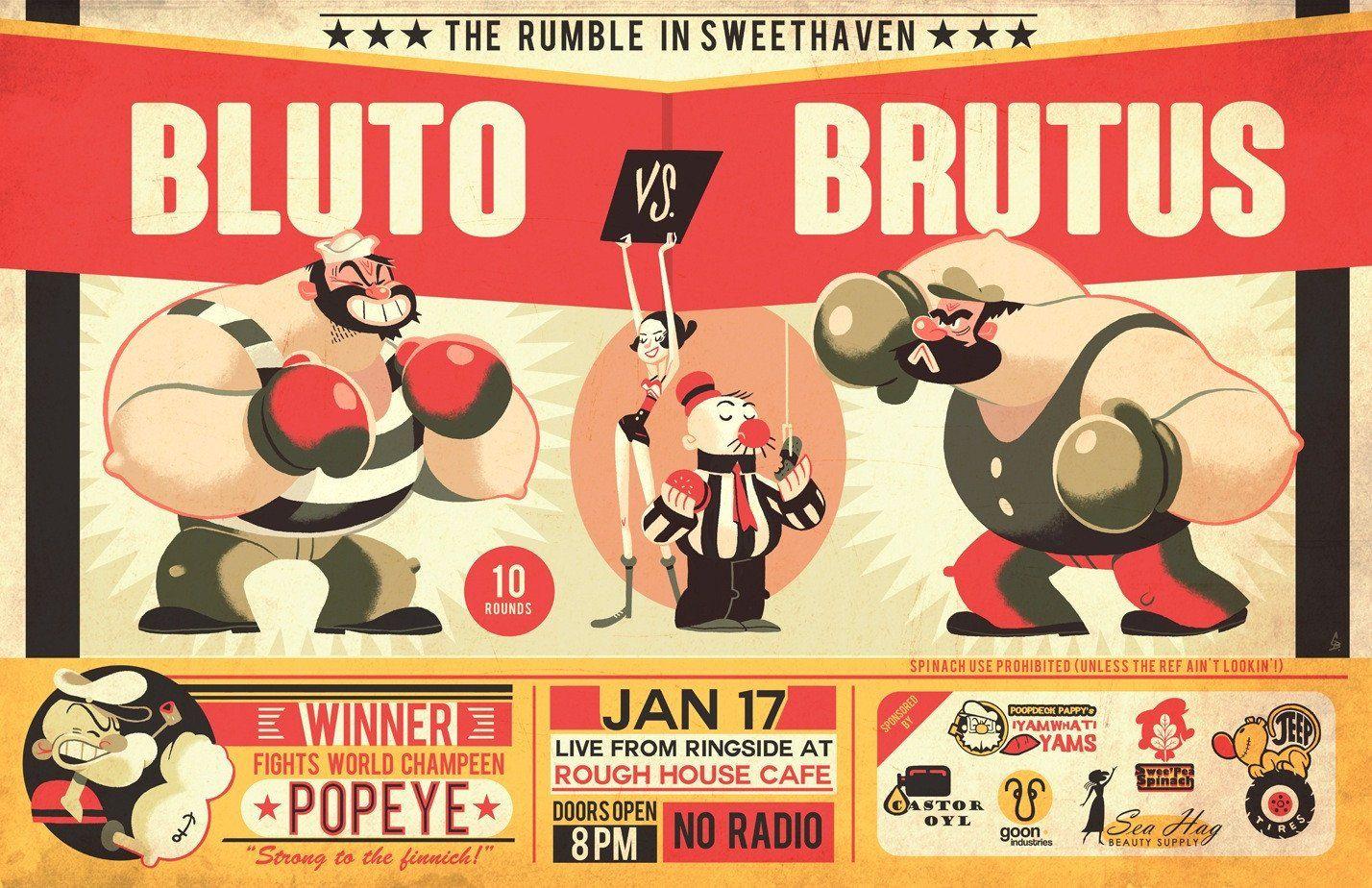 Bluto vs. Brutus