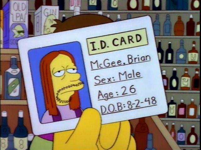 Happy Birthday, Brian McGee