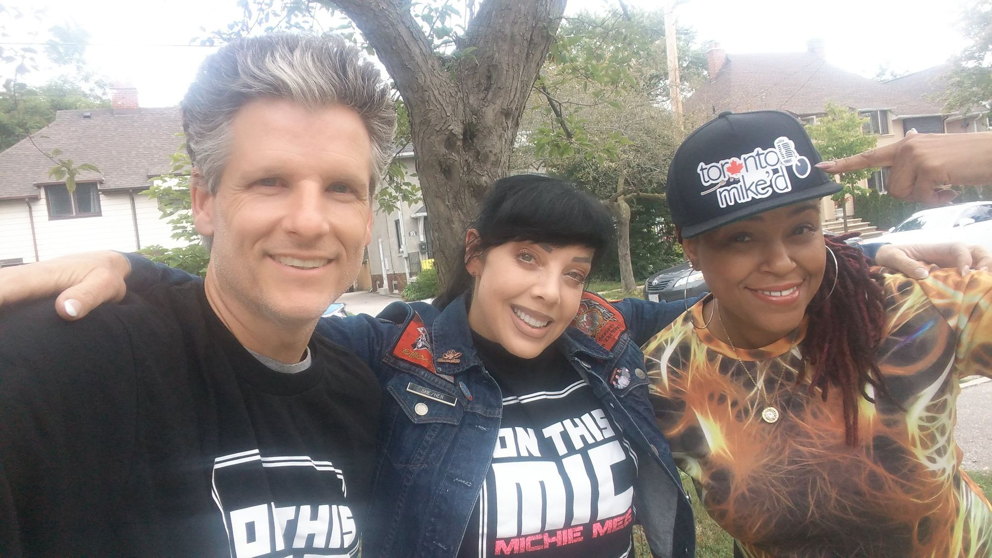 Toronto Mike'd Podcast Episode 510: Bif Naked and Michie Mee