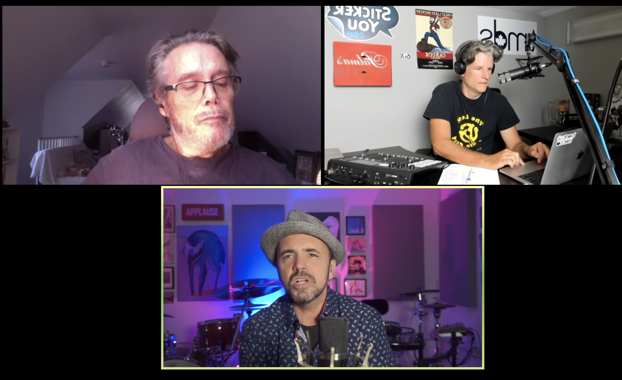 Toronto Mike'd Podcast Episode 727: Ralph Benmergui and Hawksley Workman