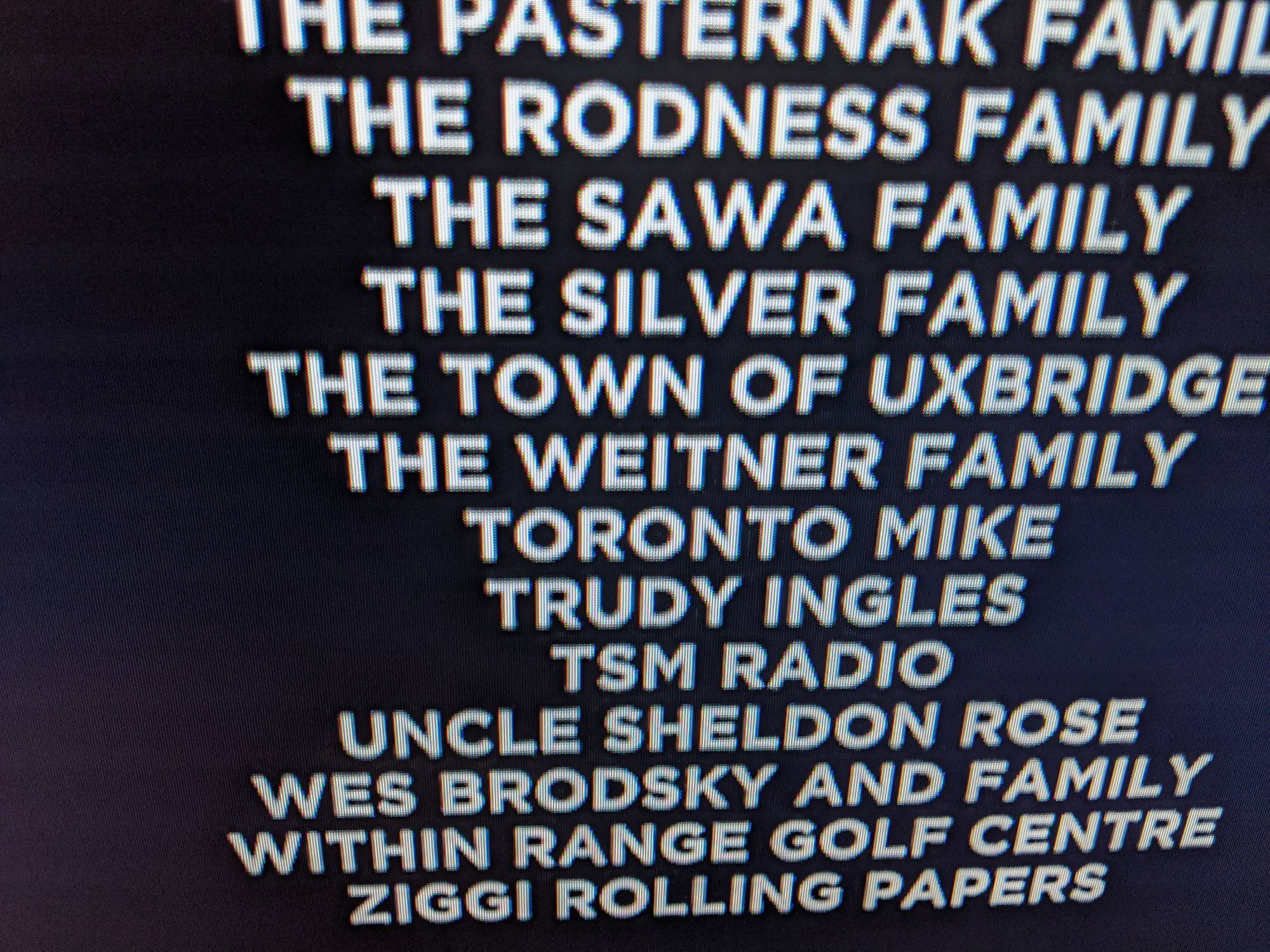 I'm Thanked in the Faking a Murderer Credits