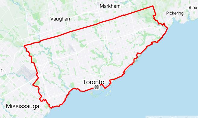 My Ride Around Toronto