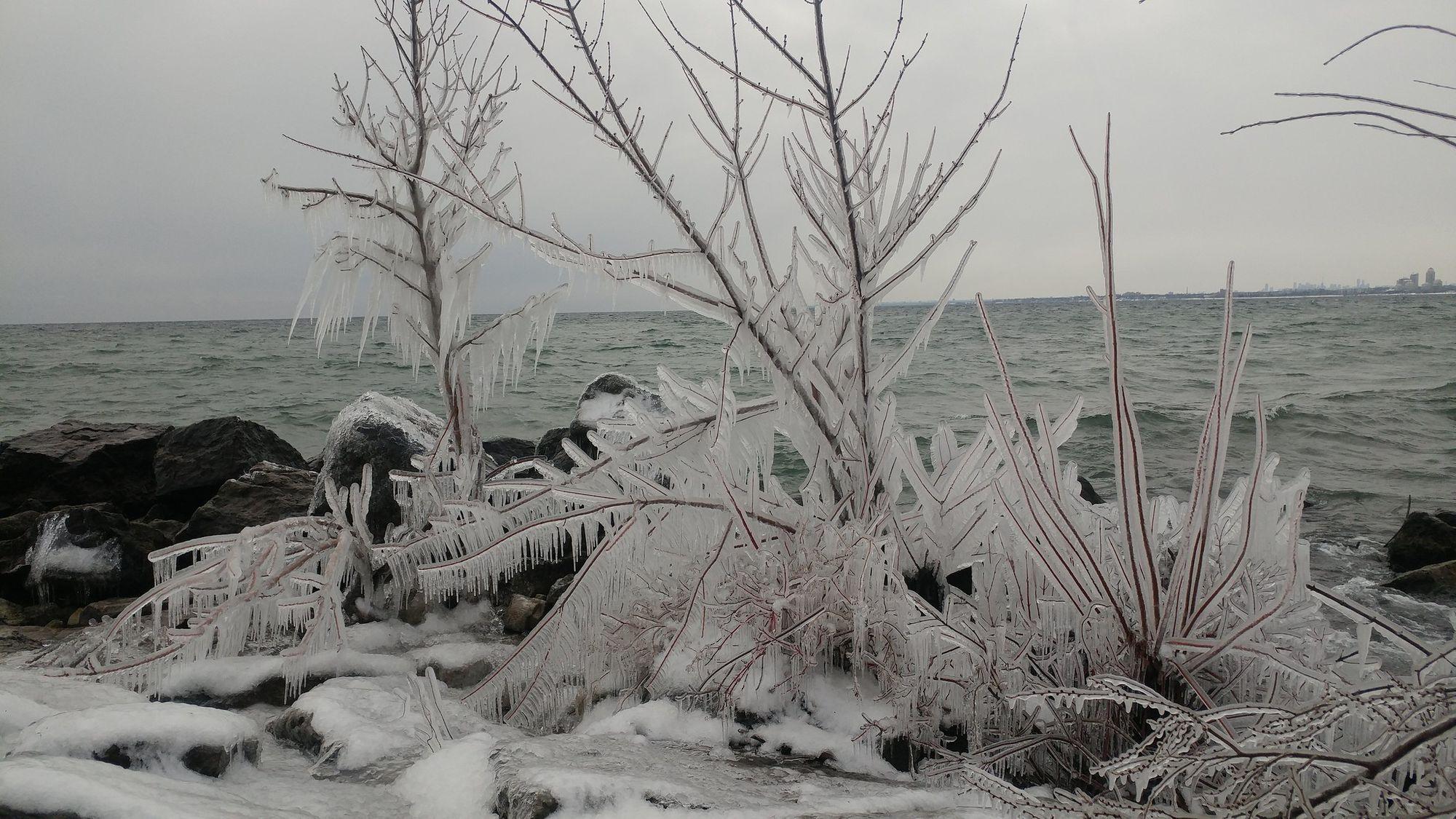 Winter Ride to Ontario Place