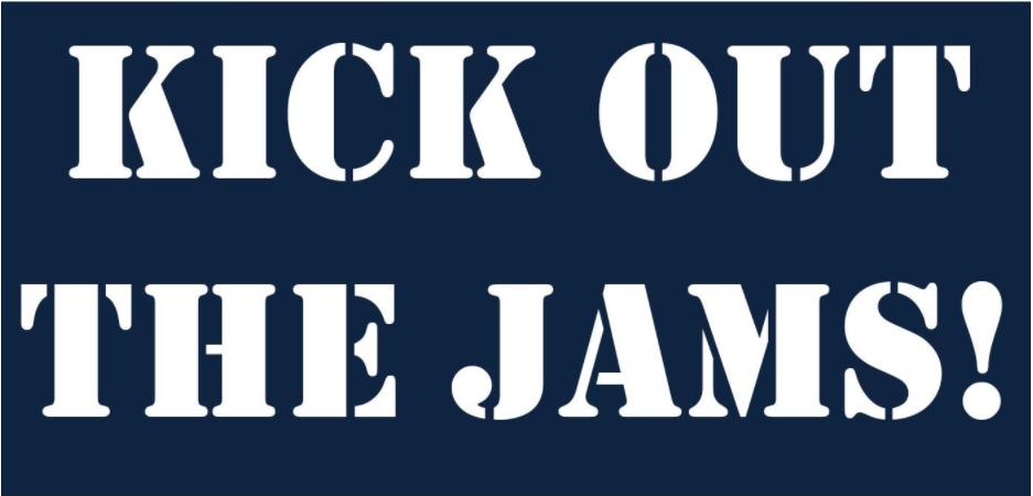 Kick Out The Jams Google Sheet