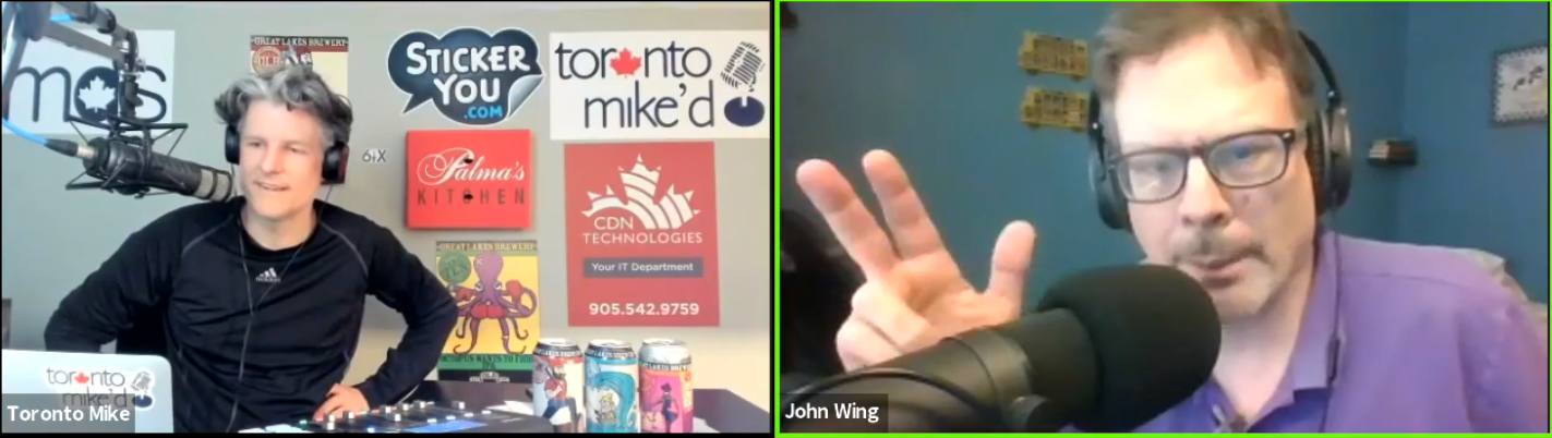 Toronto Mike'd Podcast Episode 827: John Wing
