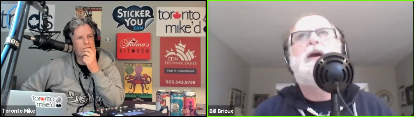 Toronto Mike'd Podcast Episode 821: Bill Brioux