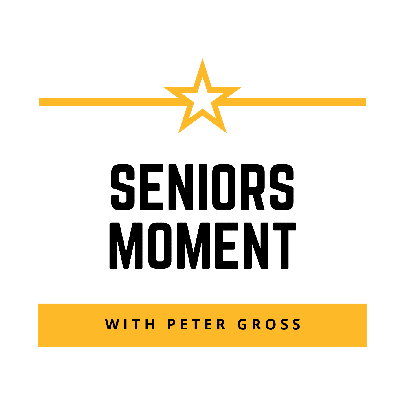 Seniors Moment with Peter Gross