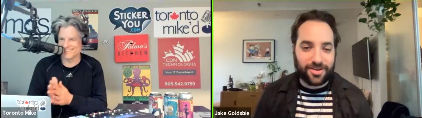 Toronto Mike'd Podcast Episode 830: Jake Goldsbie