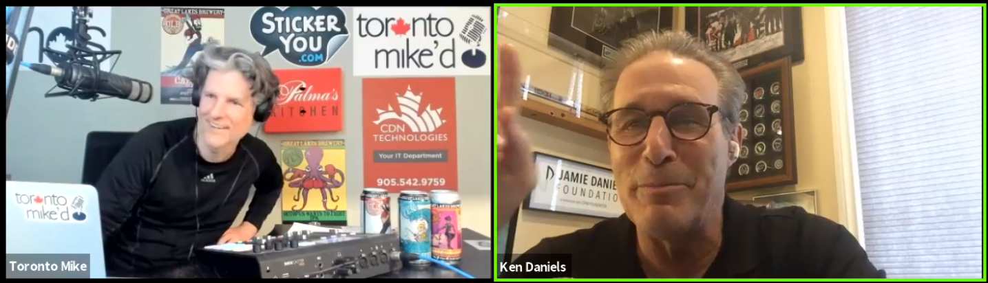 Toronto Mike'd Podcast Episode 837: Ken Daniels