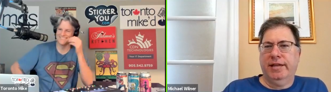 Toronto Mike'd Podcast Episode 829: Mike Wilner