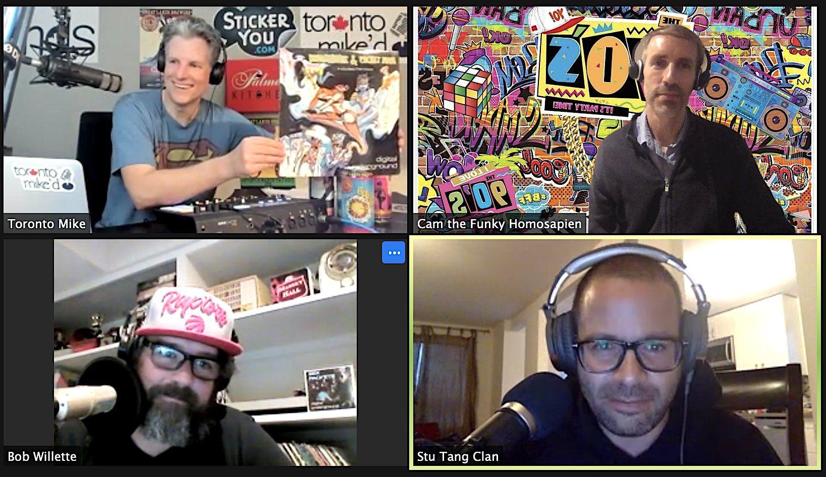 Toronto Mike'd Podcast Episode 841: Hip-Pop Jams