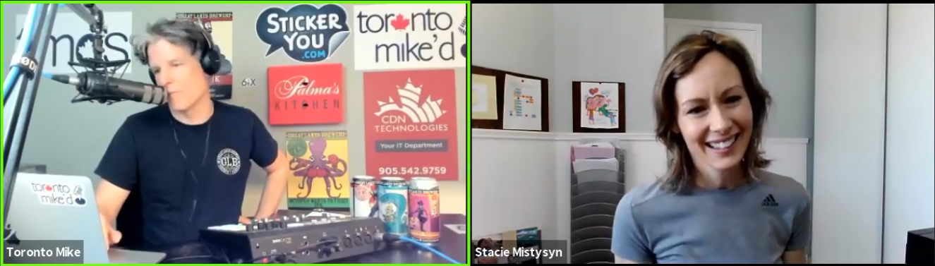 Toronto Mike'd Podcast Episode 835: Stacie Mistysyn