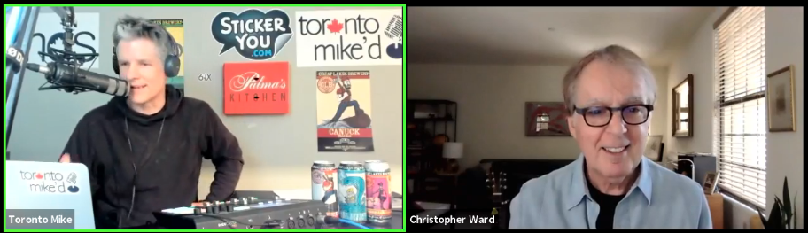 Toronto Mike'd Podcast Episode 842: Christopher Ward Kicks Out the Jams
