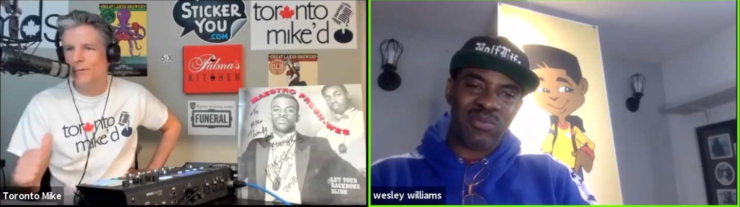 Toronto Mike'd Podcast Episode 849: Maestro Fresh Wes