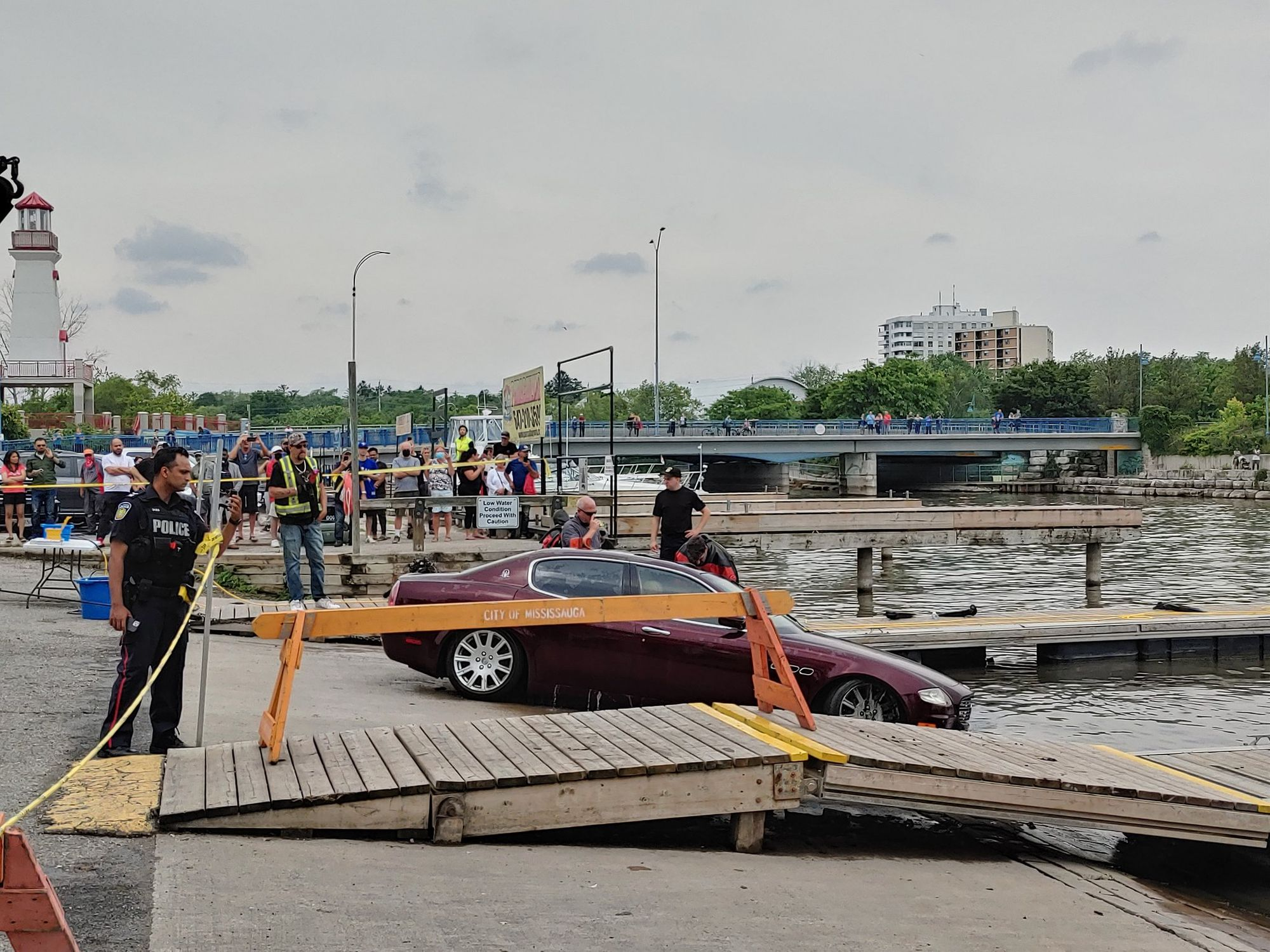 Maserati Fished From the Credit River
