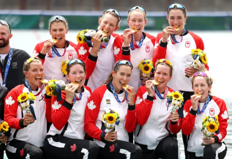 Canada's Women's Eight Crew Win Gold 🥇