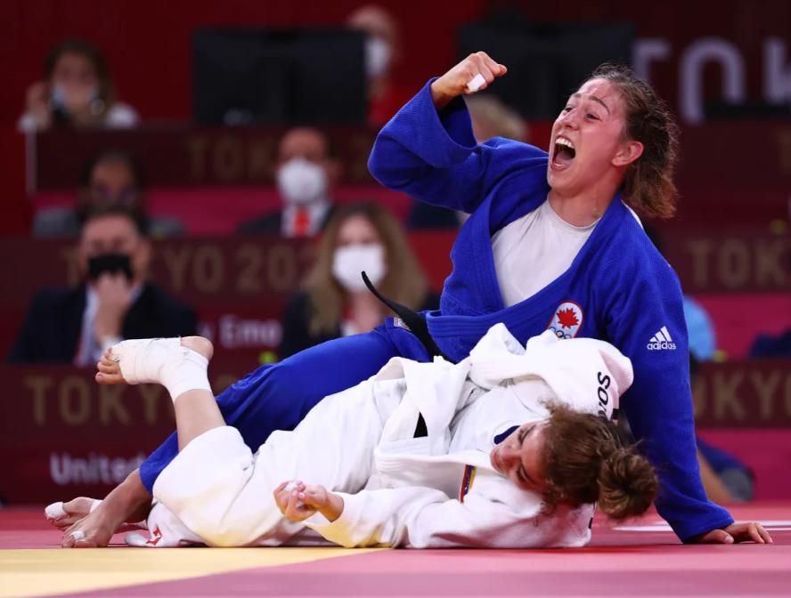 Catherine Beauchemin-Pinard Wins Bronze in Judo 🥉