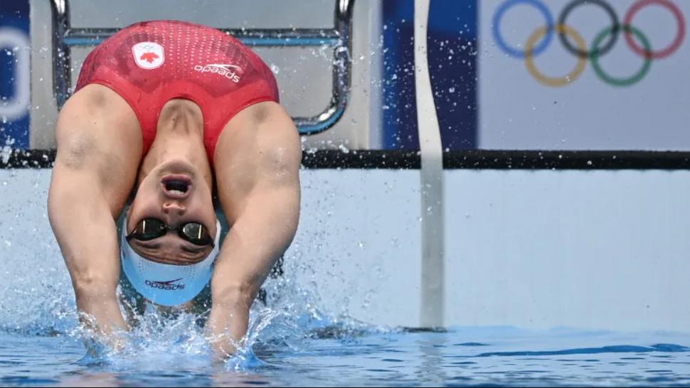 Kylie Masse Wins Silver in Women's 100m Backstroke 🥈