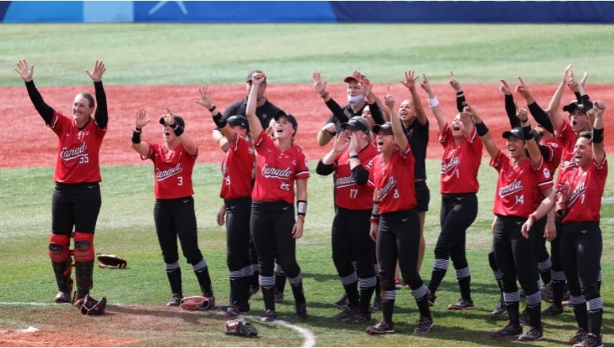 Canada Wins Bronze in Softball 🥉
