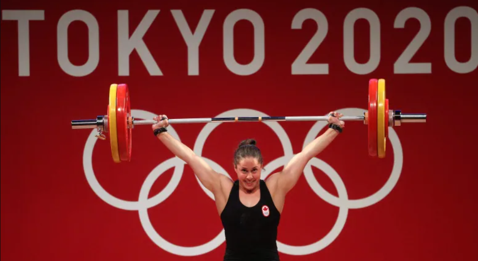 Maude Charron Wins Gold in Weightlifting 🥇