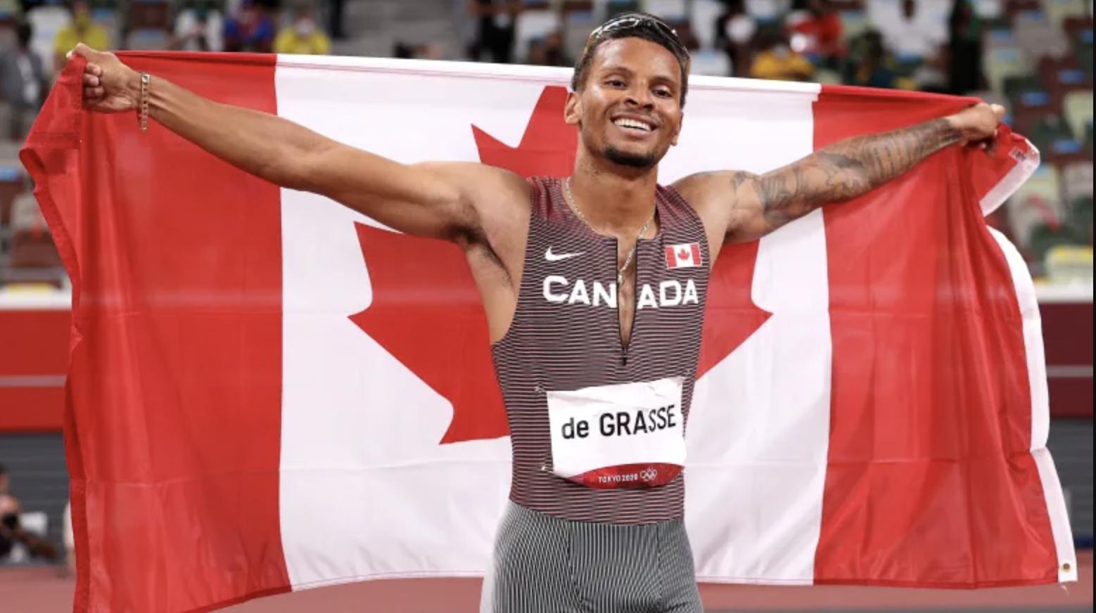 Andre de Grasse Wins Gold in 200m 🥇