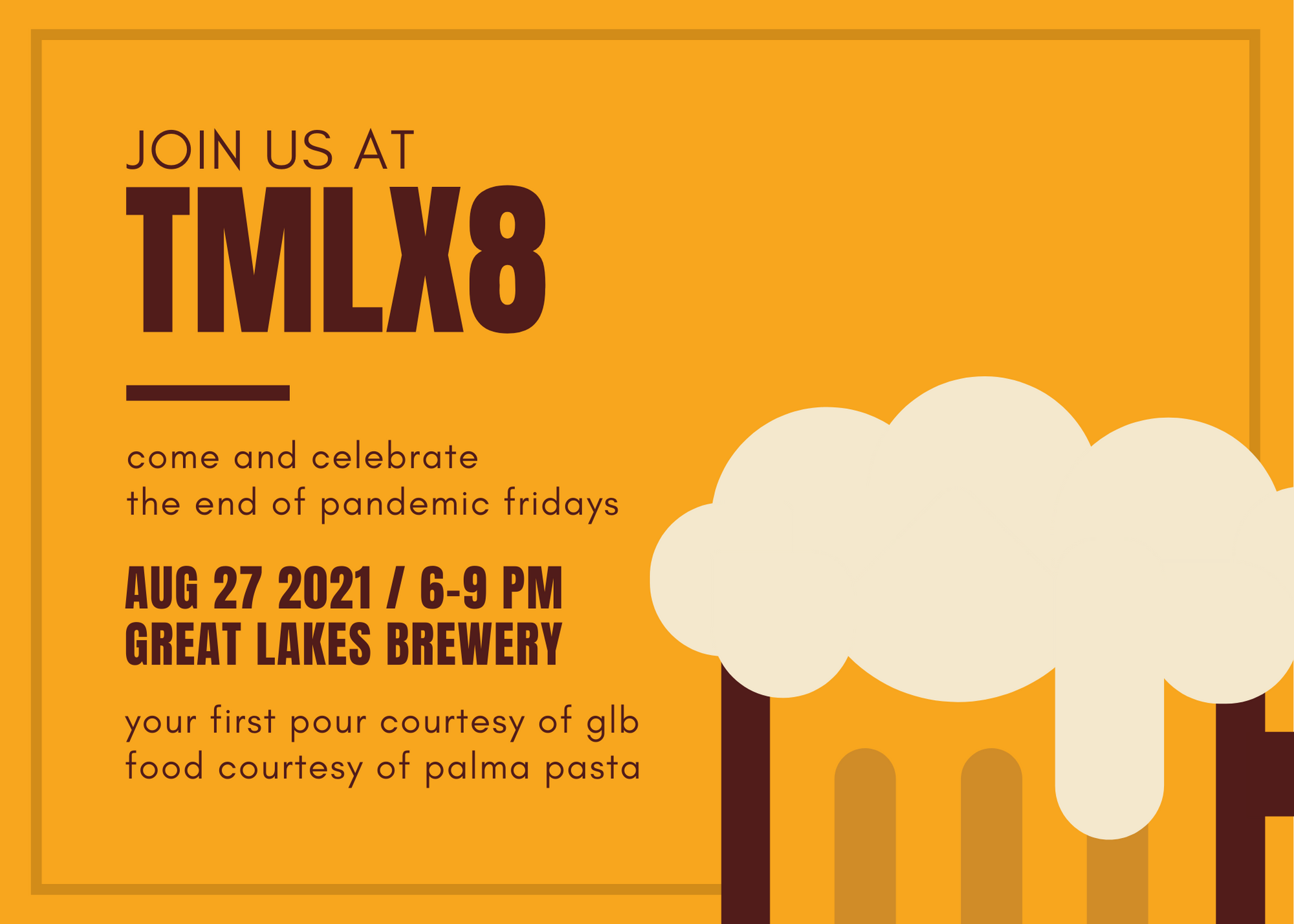 Join Us At #TMLX8 on August 27, 2021