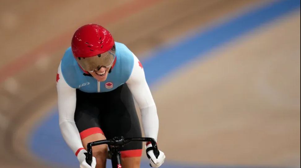 Kelsey Mitchell Wins Gold in Women's Track Cycling Sprint 🥇