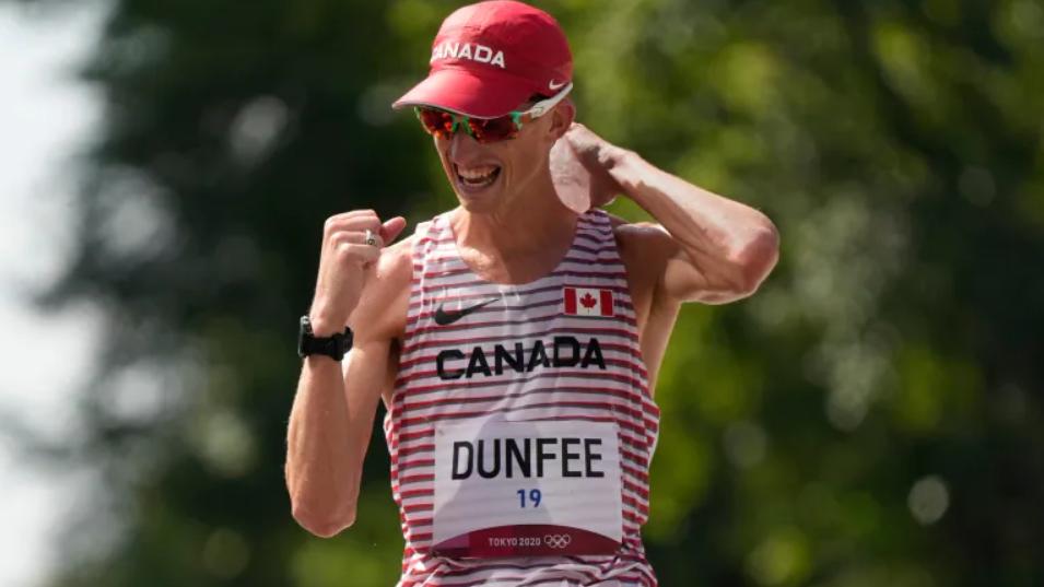 Evan Dunfee Wins Bronze in 50km Race Walk 🥉
