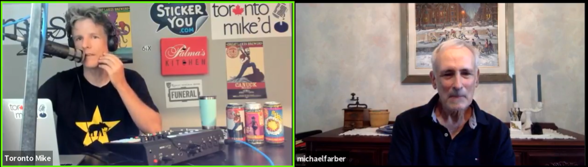 Michael Farber: Toronto Mike'd Podcast Episode 905