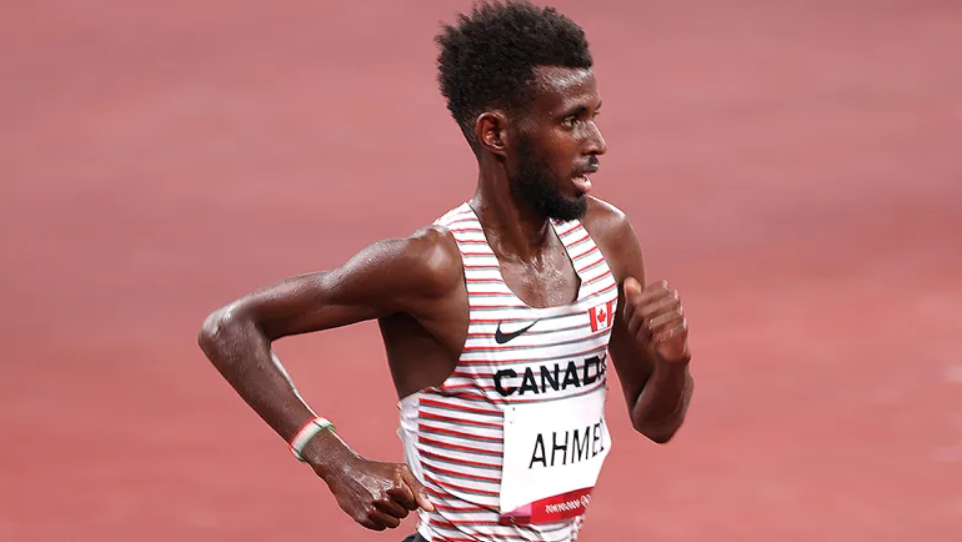 Mohammed Ahmed Wins Silver in the 5000m 🥈