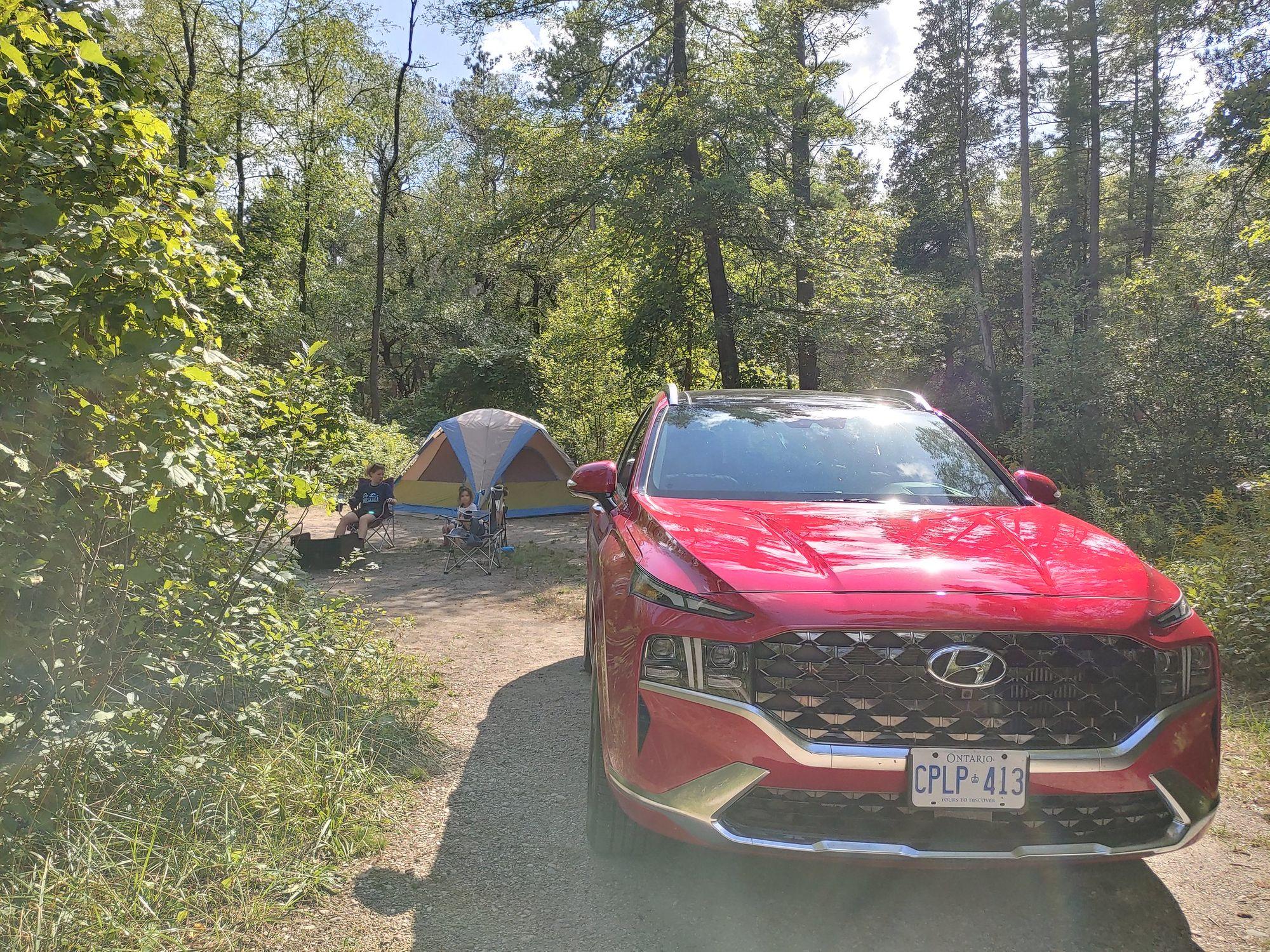 Hyundai Santa Fe Drove My Camping Adventure