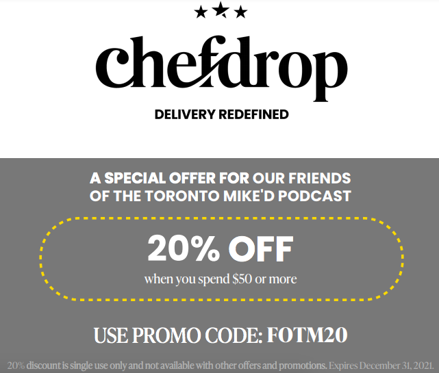 Chefdrop Promo Code to Save 20%: FOTM20